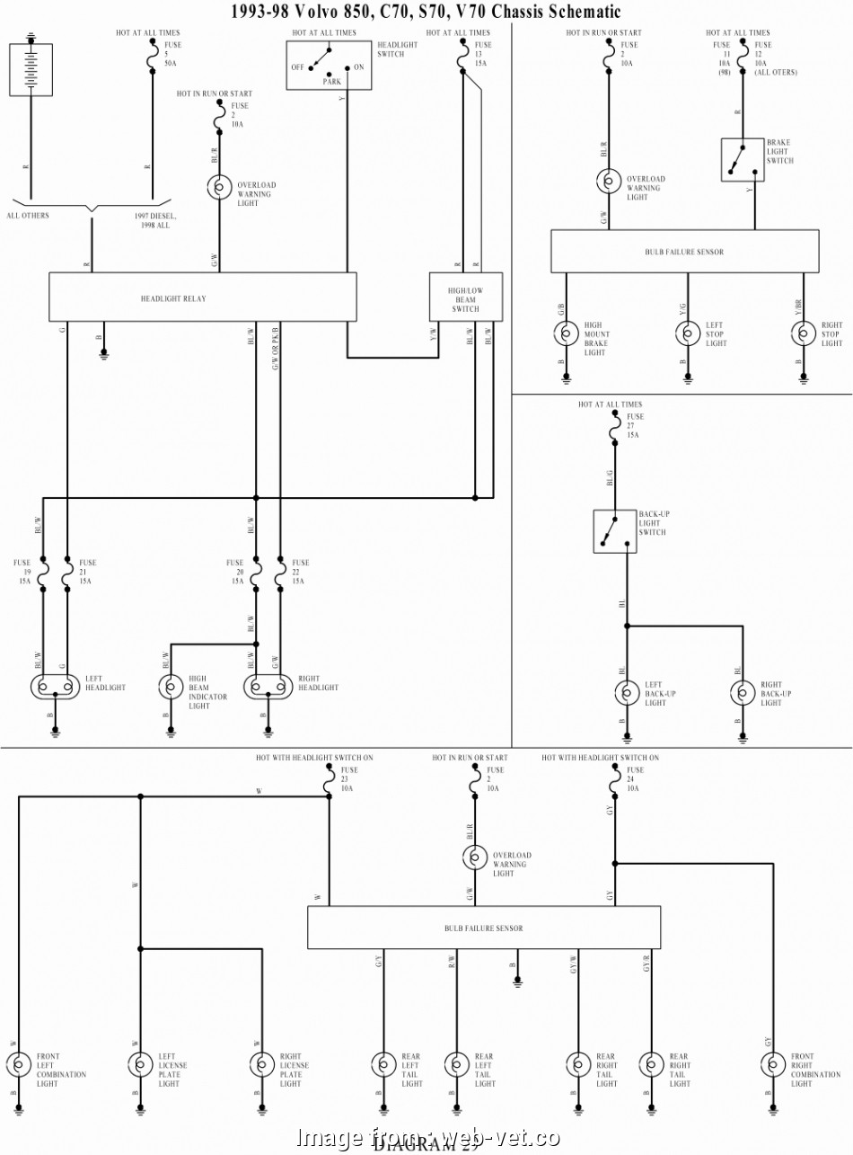 Electrical Wiring Diagram Volvo 940 Most Volvo  Wiring