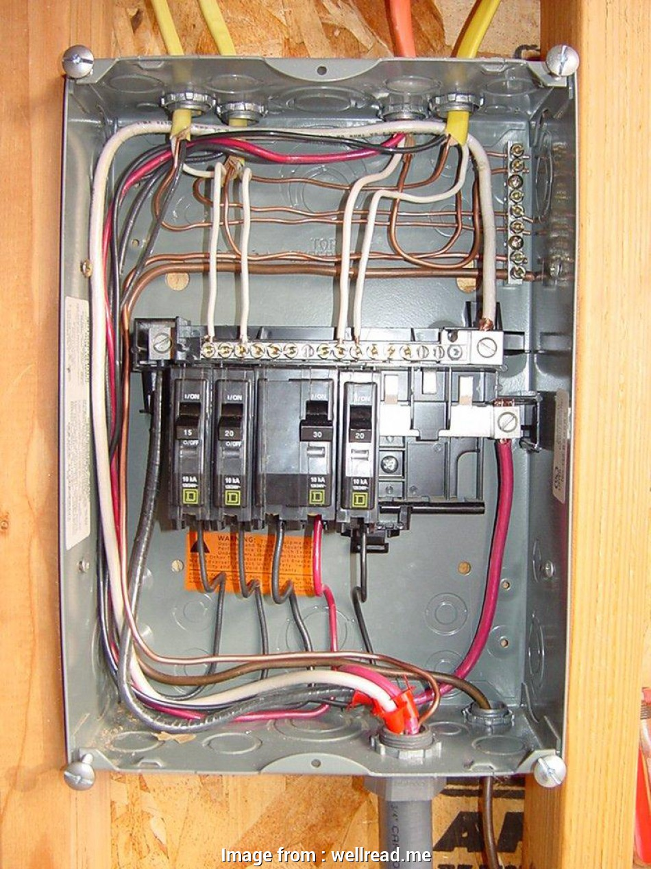 Electrical Wiring Diagrams Detached Garage Professional Panel  Wiring Diagram Throughout Breaker