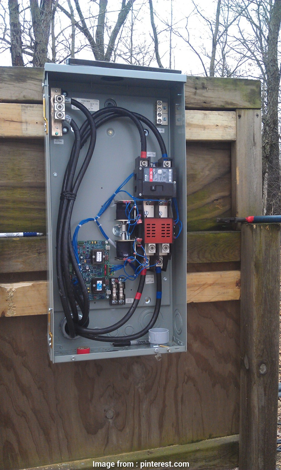 Diagram How To Wire A Generator Transfer Switch Brilliant
