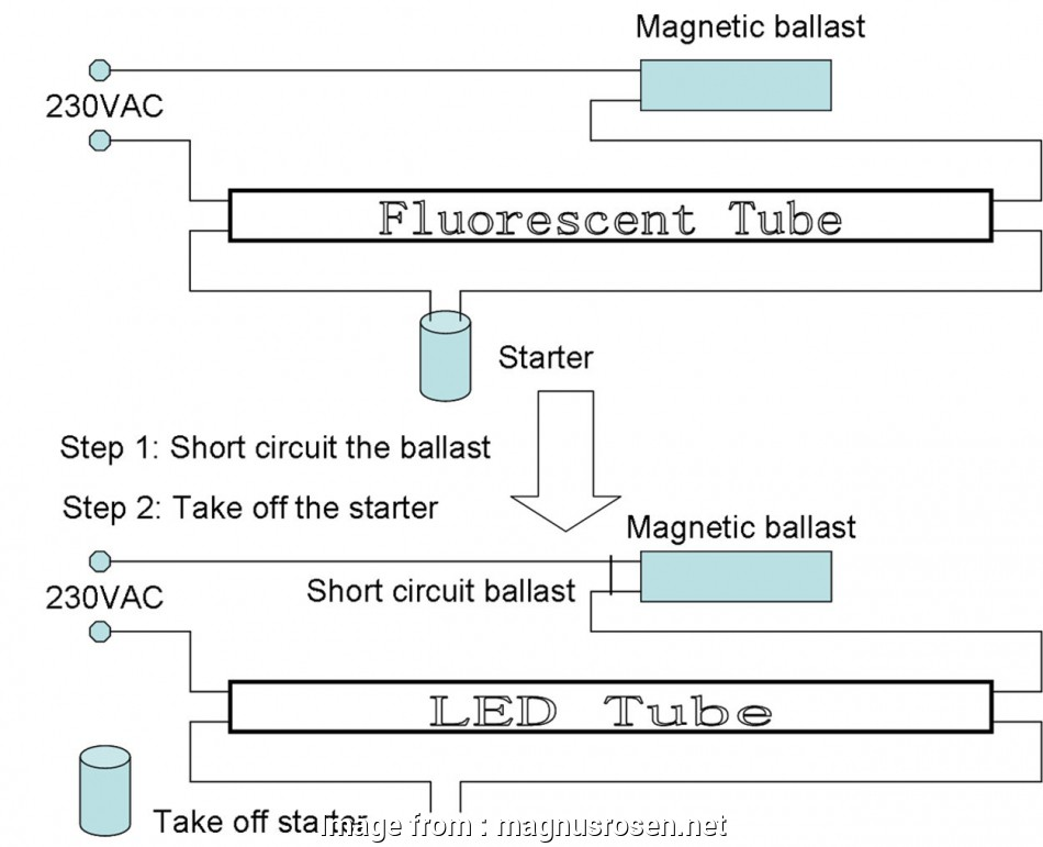 fluorescent light starter wiring diagram 16 Unique Convert Fluorescent to, Wiring Diagram, Wiring Diagram Fluorescent Light Starter Wiring Diagram Creative 16 Unique Convert Fluorescent To, Wiring Diagram, Wiring Diagram Galleries