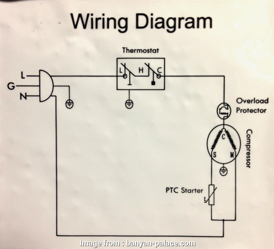 Freezer Thermostat Wiring Diagram Simple     Freezer
