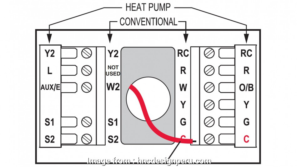 Furnace To Thermostat Wiring Diagram Most Goodman  Furnace Thermostat Wiring Diagram  Honeywell