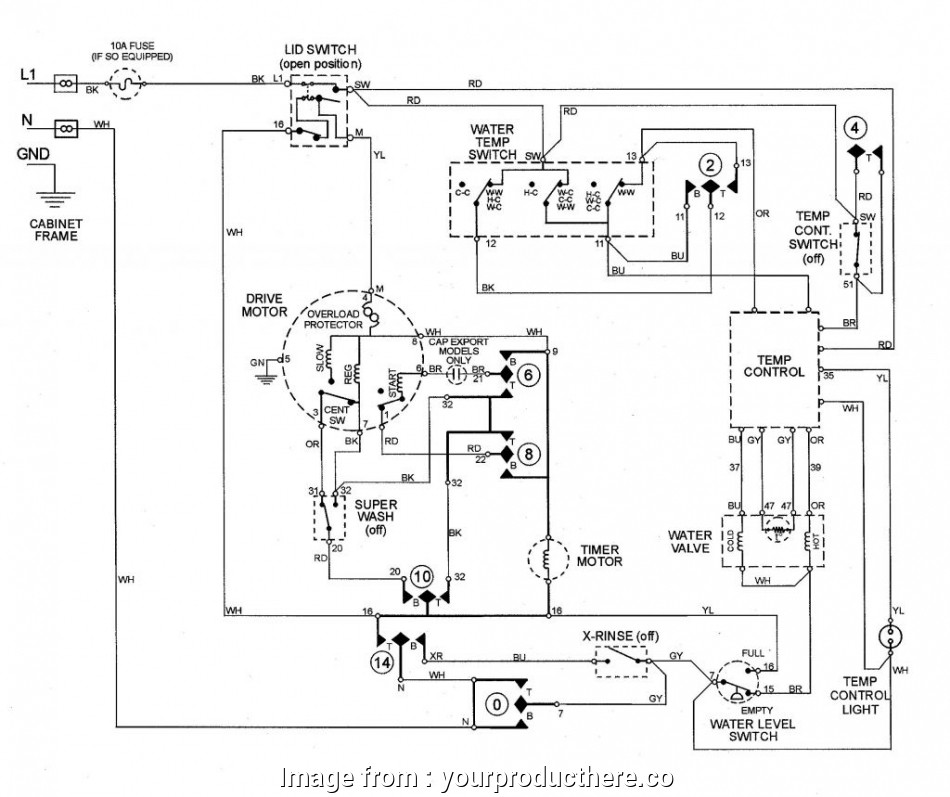 Ge Starter Wiring Diagrams Nice Wiring Diagram  Ge Dryer