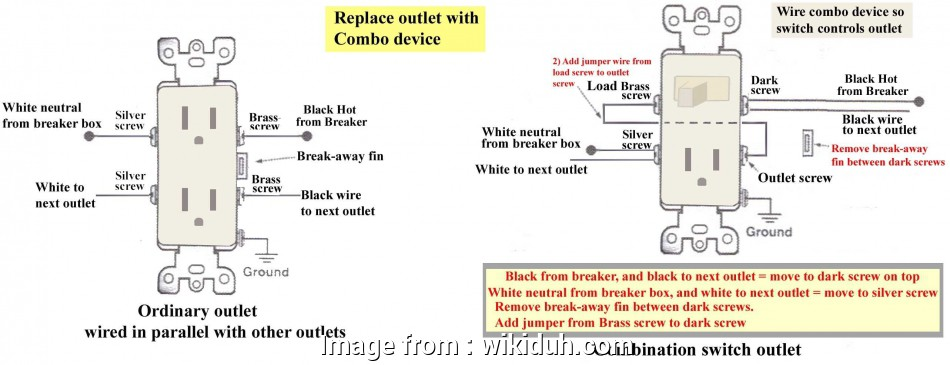 Gfci With Switch Wiring Diagram Best Wiring Diagram  Gfci Switch Fresh Awesome A Outlet With