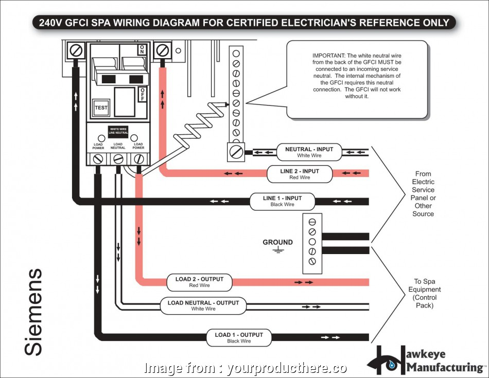 Gfci With Switch Wiring Diagram Practical Wiring Diagrams  A Gfci Combo Switch Refrence Wiring