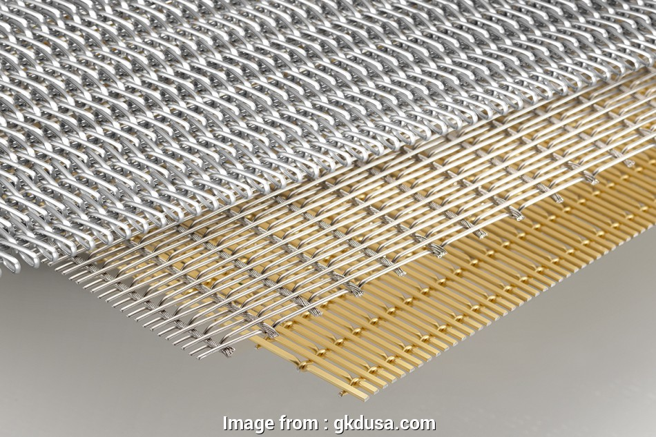 gkd woven wire mesh Architectural mesh: Cable mesh, PC mesh, spiral mesh,, USA 9 Most Gkd Woven Wire Mesh Solutions
