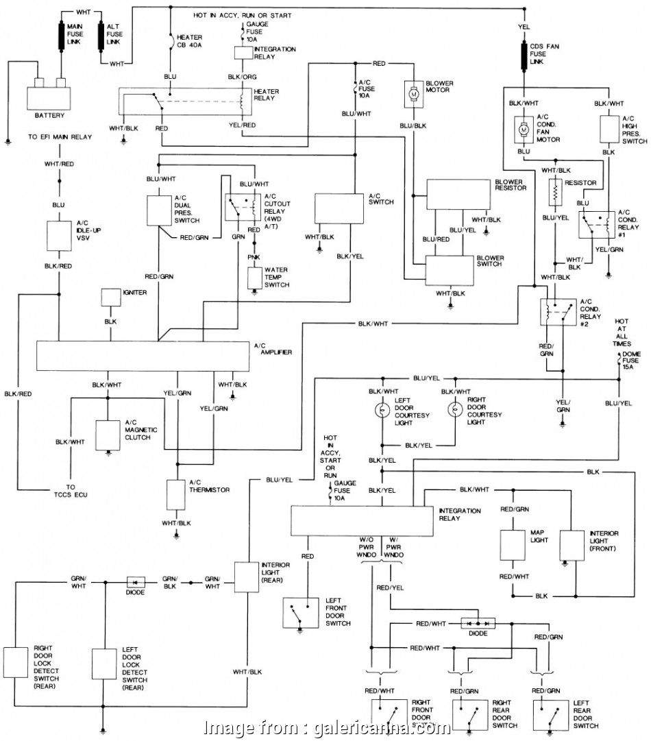 Hilux Electrical Wiring Diagram Nice Old Fashioned Toyota