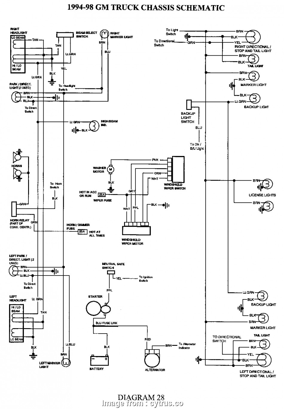 Hilux Starter Wiring Diagram Brilliant Toyota Hilux Tail