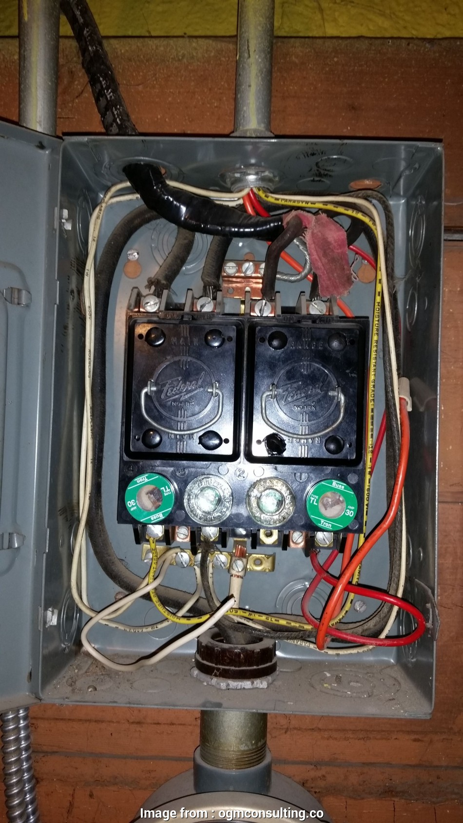 Home Electrical Wiring  Sale Fantastic Old Fuse  Panel