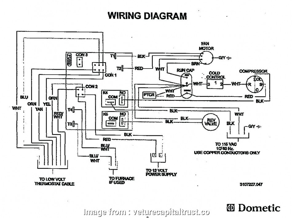 Dometic 3 Wire Thermostat Wiring Diagram from tonetastic.info
