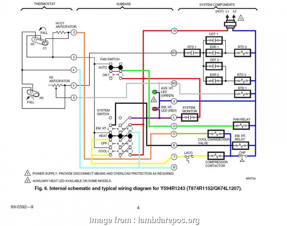 18 Fantastic Honeywell Heat Only Thermostat Wiring Diagram