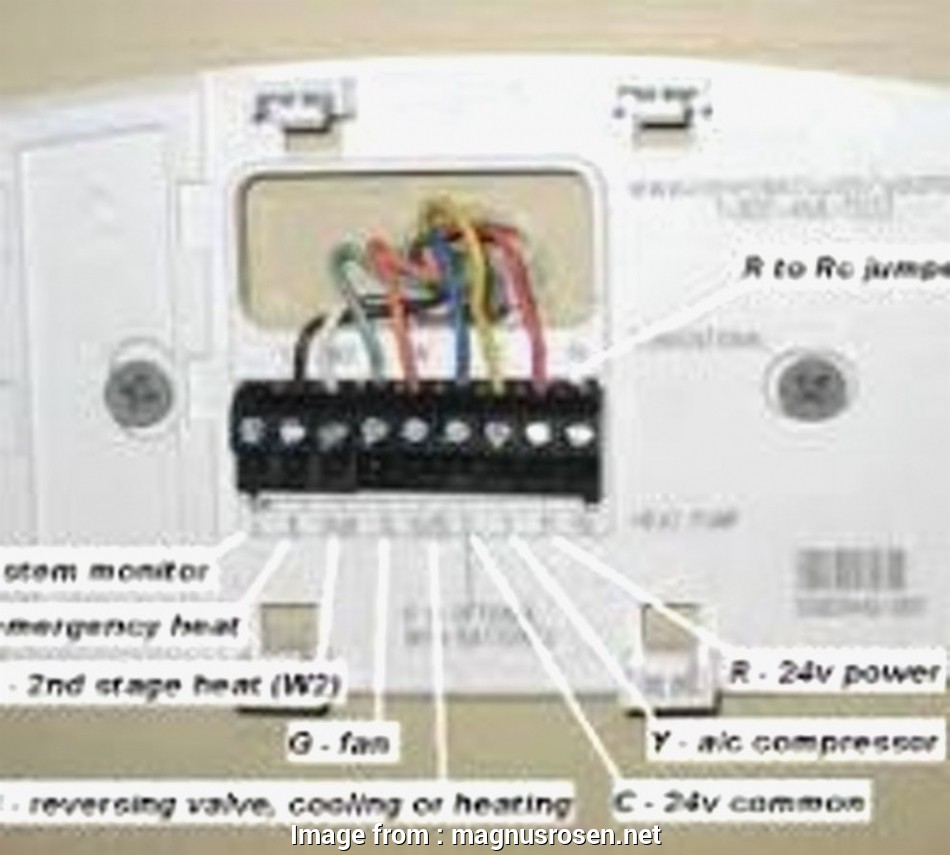 Honeywell Thermostat Rth2310b Wiring Diagram Brilliant