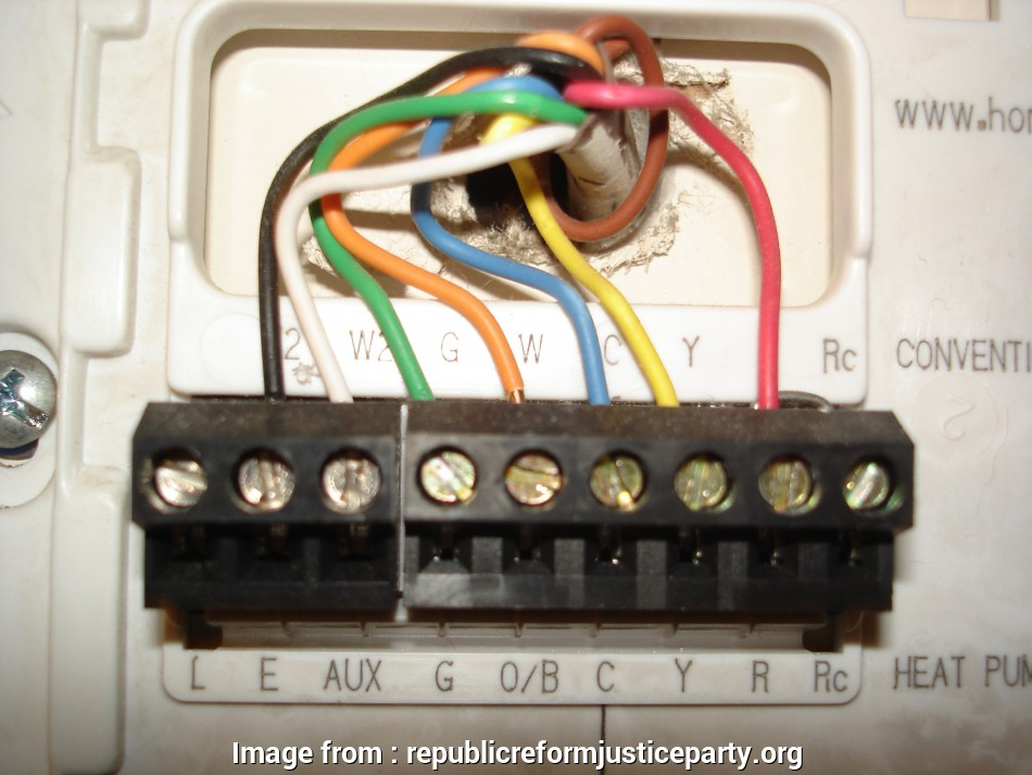 Honeywell Thermostat Rth6350d1000 Wiring Diagram Simple