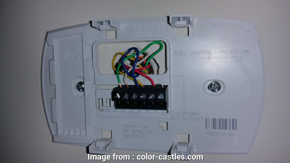 Honeywell Thermostat Th6110d1021 Wiring Diagram New