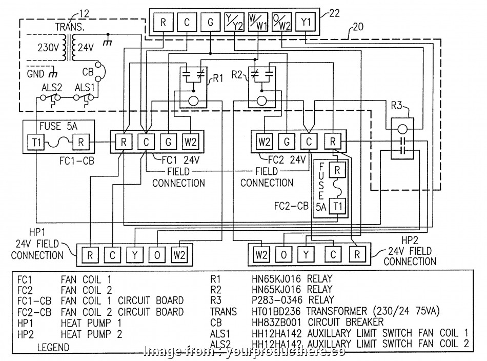 Honeywell Thermostat Wiring Diagram 4 Wire Brilliant