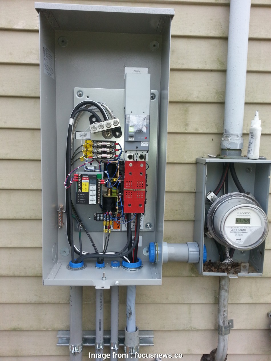How To Install A Generator Automatic Transfer Switch New Wiring Automatic Transfer Switch Home