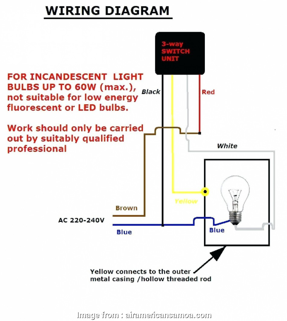 How To Install A Three  Light Switch Diagram Creative 3