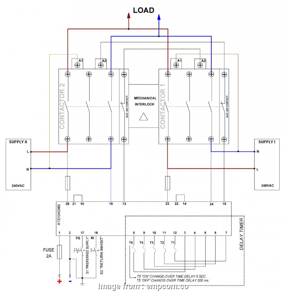 Diagram How To Wire Up A Generator Transfer Switch Popular
