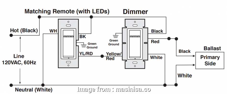 How To Install  Wire Light Switch Nice 3 Pole Dimmer