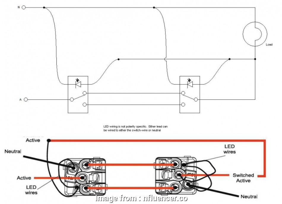 How To Wire A Dimmer Switch In A  Way Switch Best Clipsal
