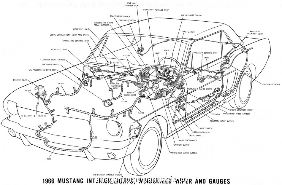 How To Wire A Dome Light In A Car Practical 1966 Mustang