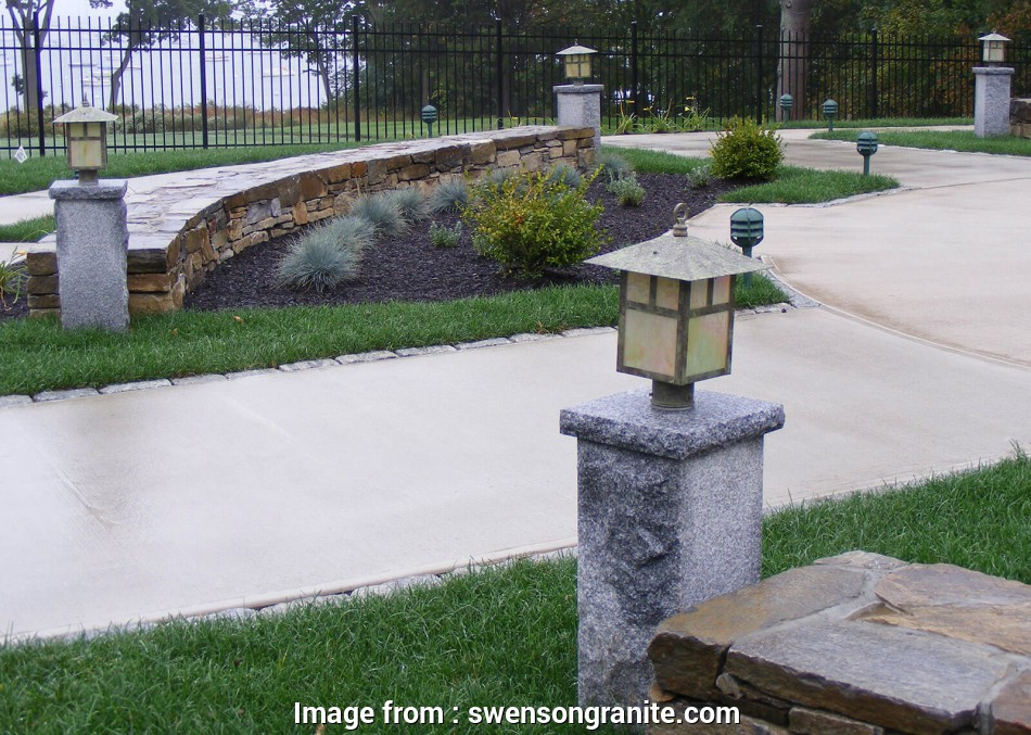 how to wire a granite light post Granite Posts, Swenson, 100% Natural Stones, U.S.A 16 Nice How To Wire A Granite Light Post Collections