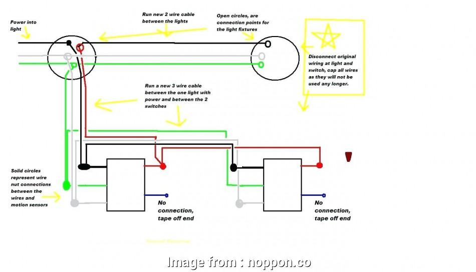 How To Wire A Hallway Light With  Switches Practical Two