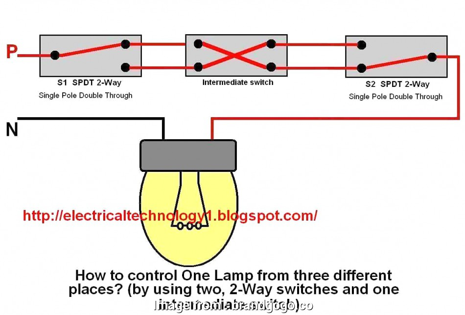 How To Wire A Light Switch  An Outlet Together Brilliant Part 3 Wiring Diagrams  Electrical