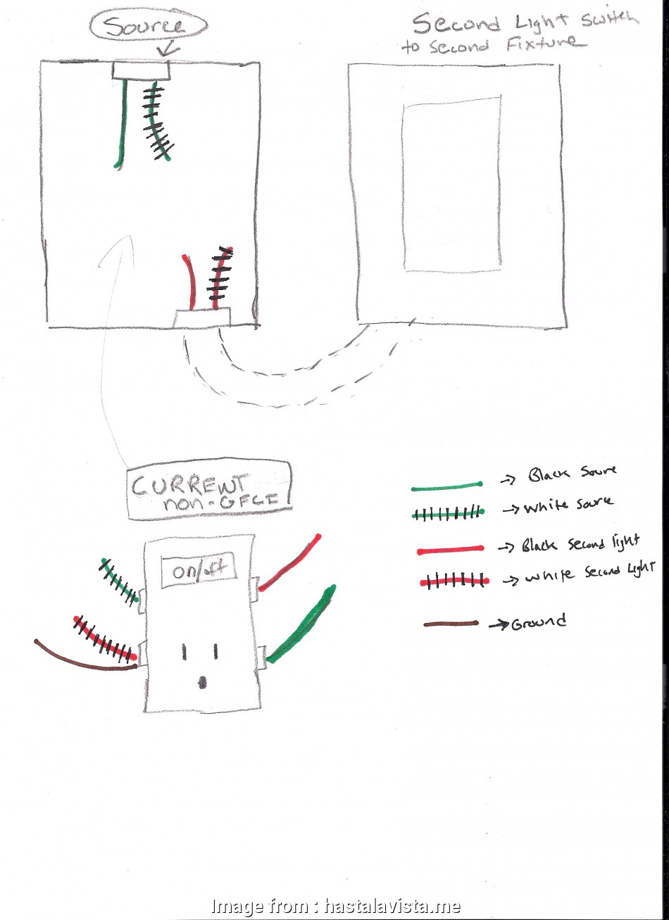 How To Wire A Light Switch  Gfci Outlet In Same Box