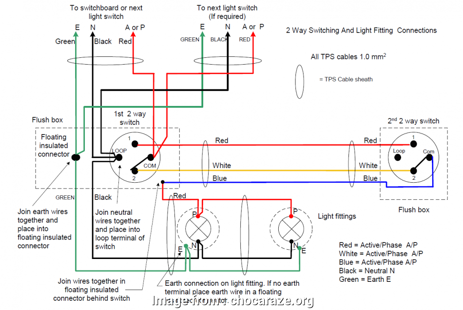 How To Wire A  Light Switch Brilliant Two  Light Switching