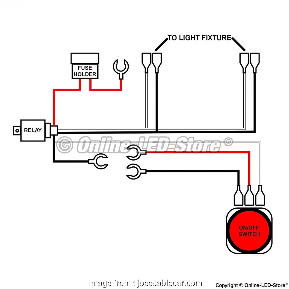 How To Wire A Light  To A Switch Most Wiring Diagram  Led