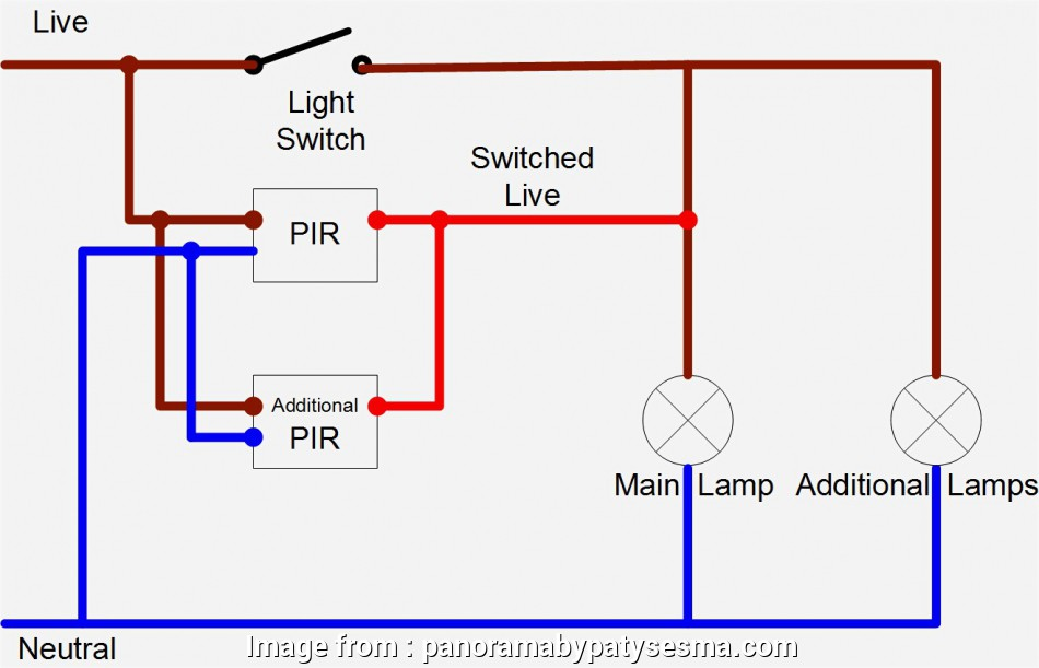 How To Wire A Motion Sensor Light Switch Cleaver Pir