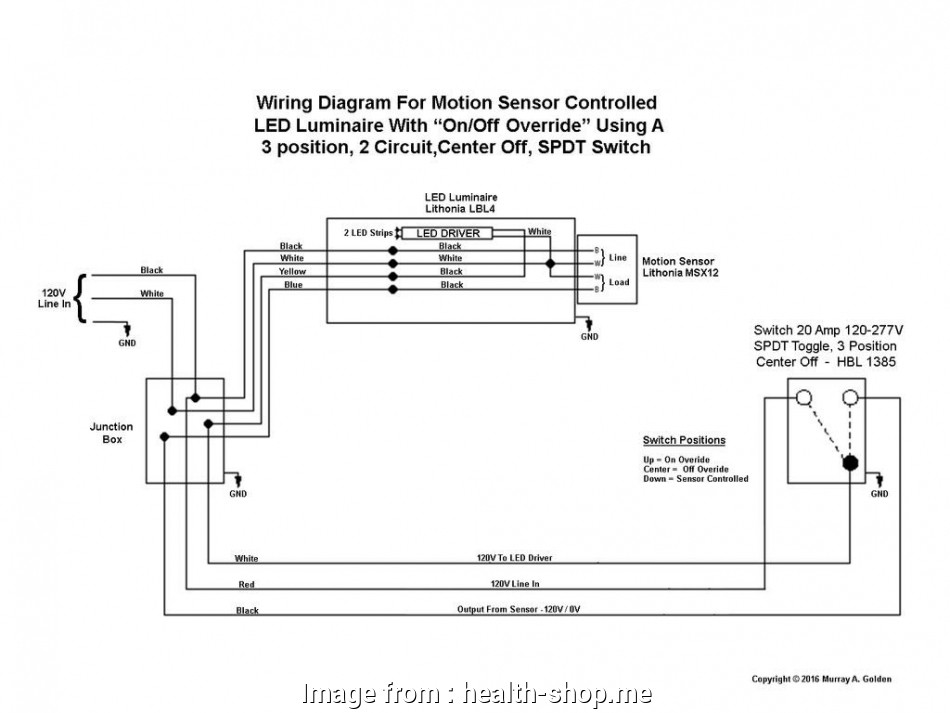 How To Wire A Motion Sensor Light Switch Fantastic Wiring