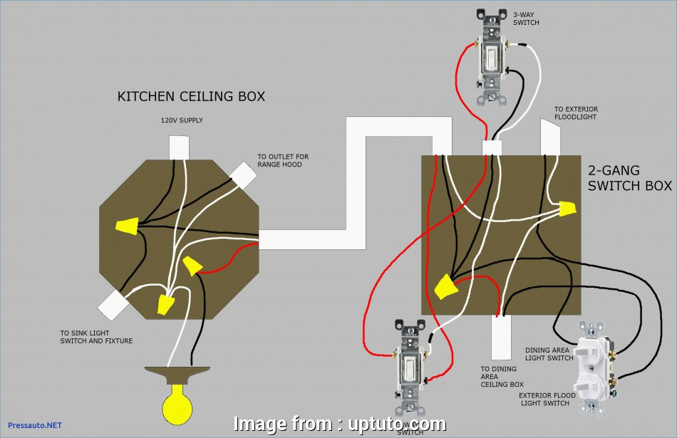 How To Wire A Single Pole Light Switch With 4 Wires
