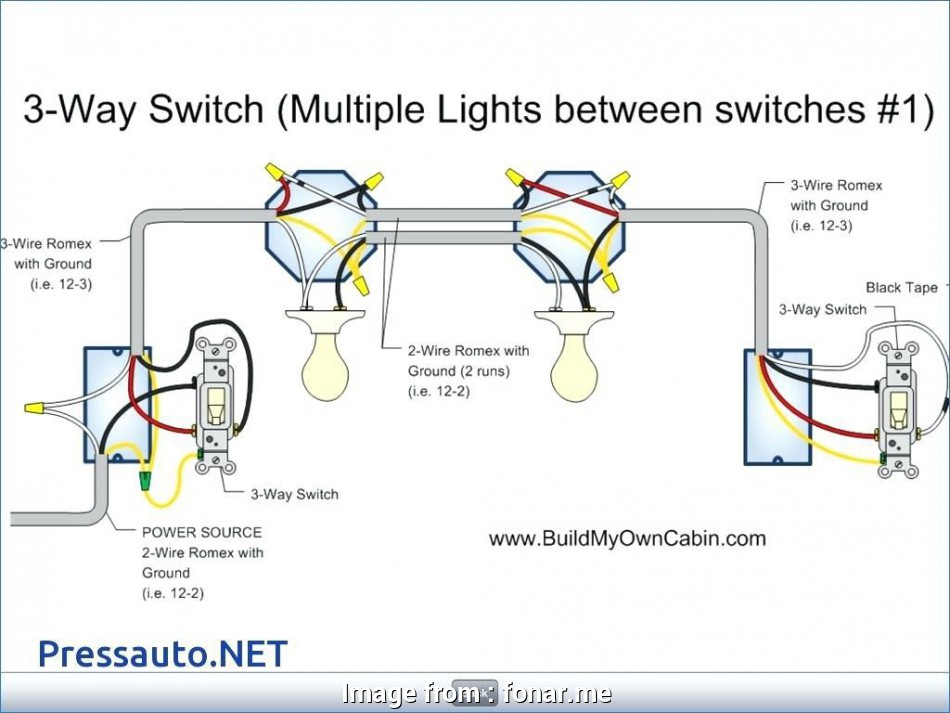 how to wire a three way switch to multiple lights 3, Switch Wiring Diagram Multiple Lights, fonar.me 17 Cleaver How To Wire A Three, Switch To Multiple Lights Ideas