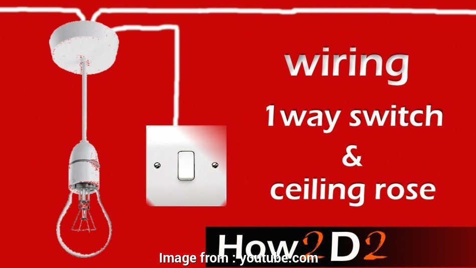 How To Wire A  Way Switch Ceiling Rose Perfect Lighting