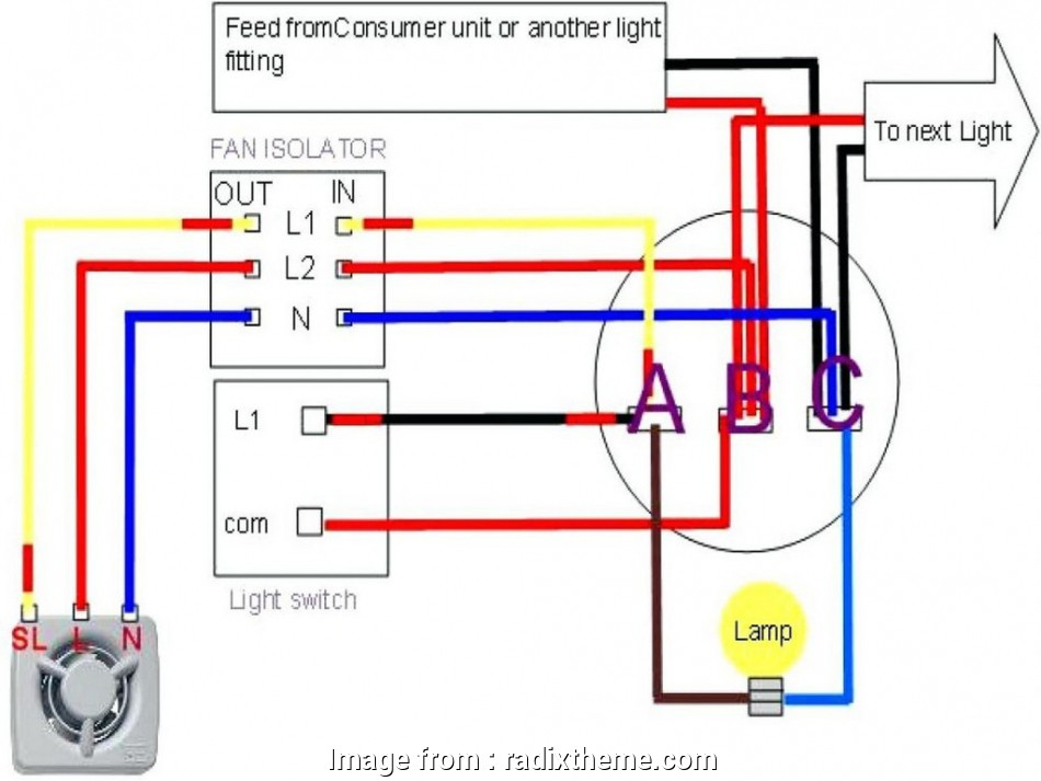 How To Wire Ceiling  And Light To Separate Switches