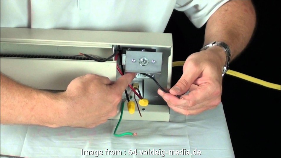 How To Wire Electric Baseboard Heater Practical Marley
