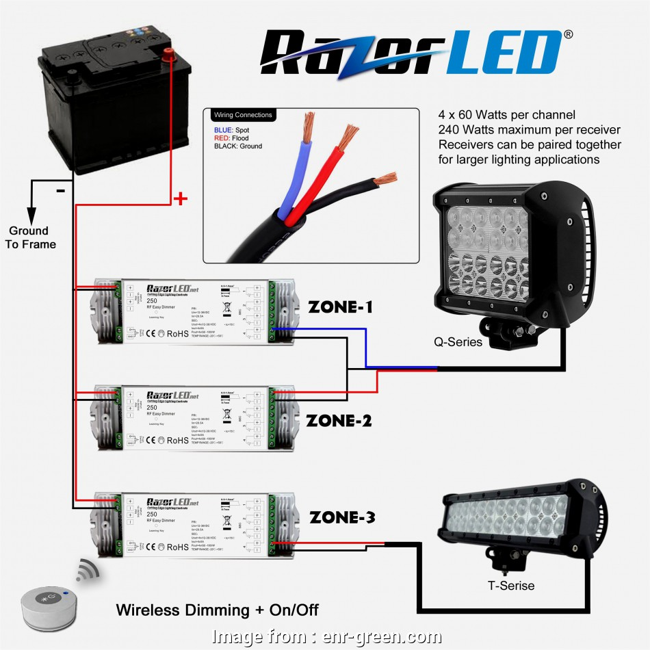 How To Wire Multiple  Light Bars Simple Wiring Diagrams