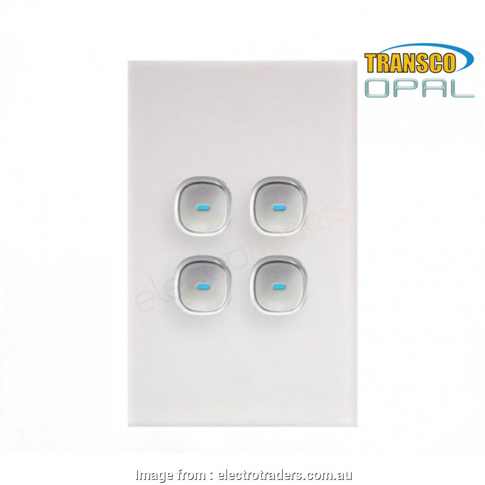 How To Wire Up  Gang Light Switch New Opal Series  Push