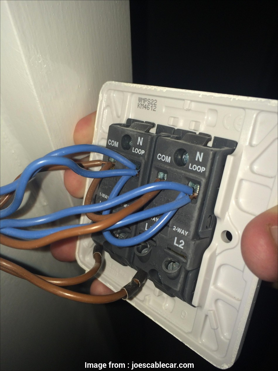 How To Wire Up  Gang Light Switch Professional Wiring