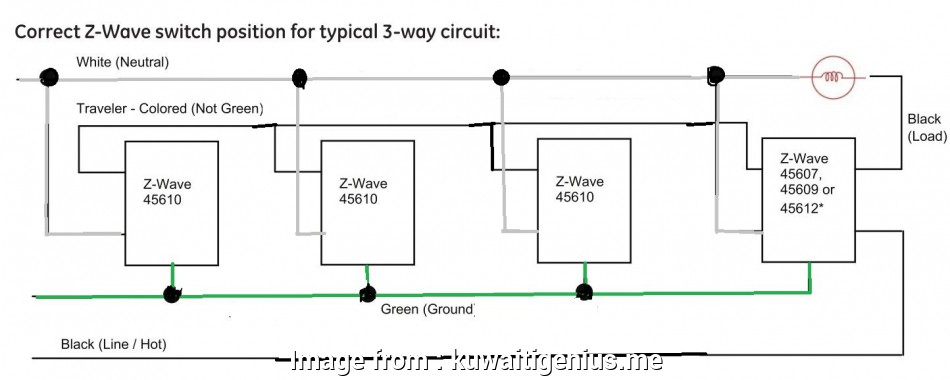 How To Wire  Way Light Switch Circuit Popular Unique 3  4
