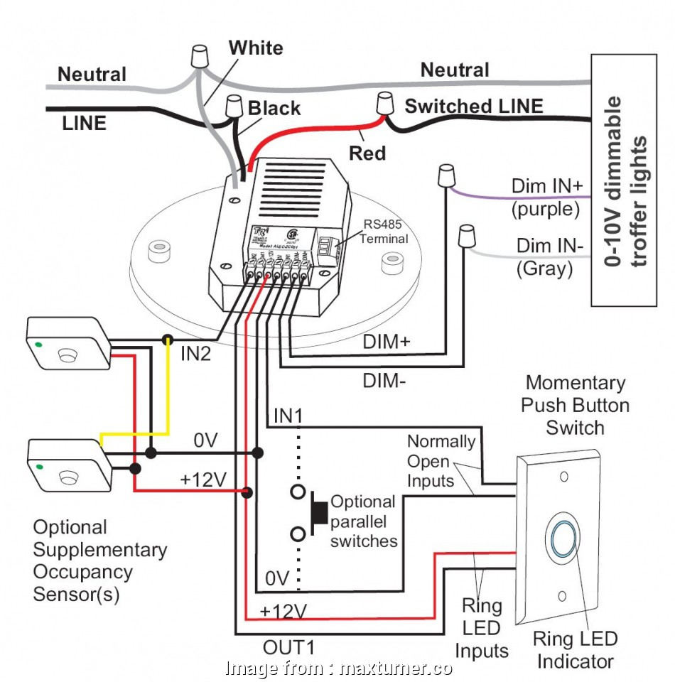 How To Wire  Way Occupancy Switch Simple Alecwiring2