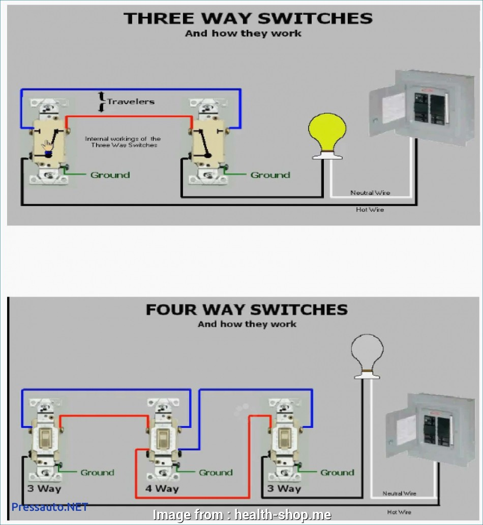 How To Wire Way Switch With Multiple Lights Diagram Practical 3 Wiring A Three Four