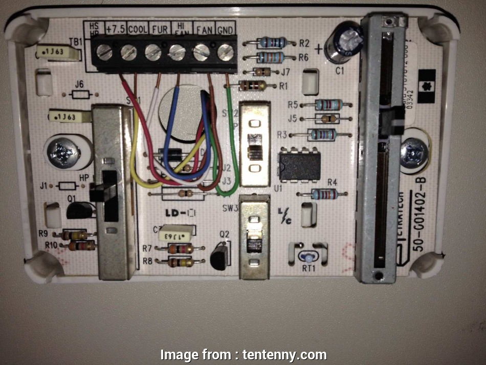 Hunter 44272 Thermostat Wiring Diagram Simple Wiring