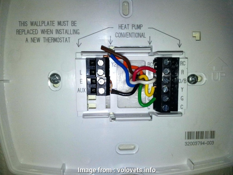 Hunter Thermostat Wiring Diagram Popular Lux  Thermostat