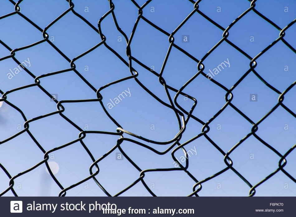 hurricane wire mesh fence Torn hole in a wire mesh, hurricane, or cyclone steel fence Stock 12 Nice Hurricane Wire Mesh Fence Collections