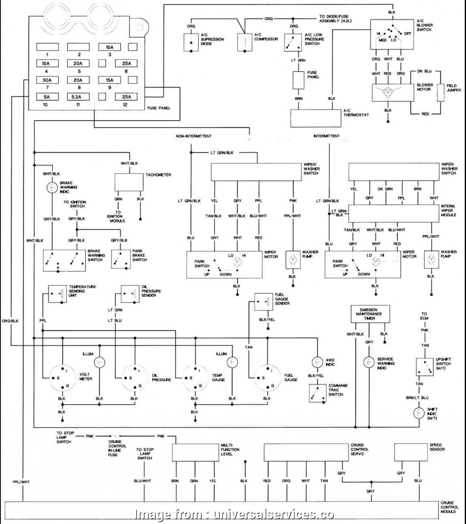Jeep Tj Electrical Wiring Diagram Creative 87 Jeep Yj Fuse