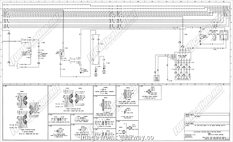 Jeep Yj Light Switch Wiring Best 1973 1979 Ford Truck Wiring Diagrams Schematics Fordification