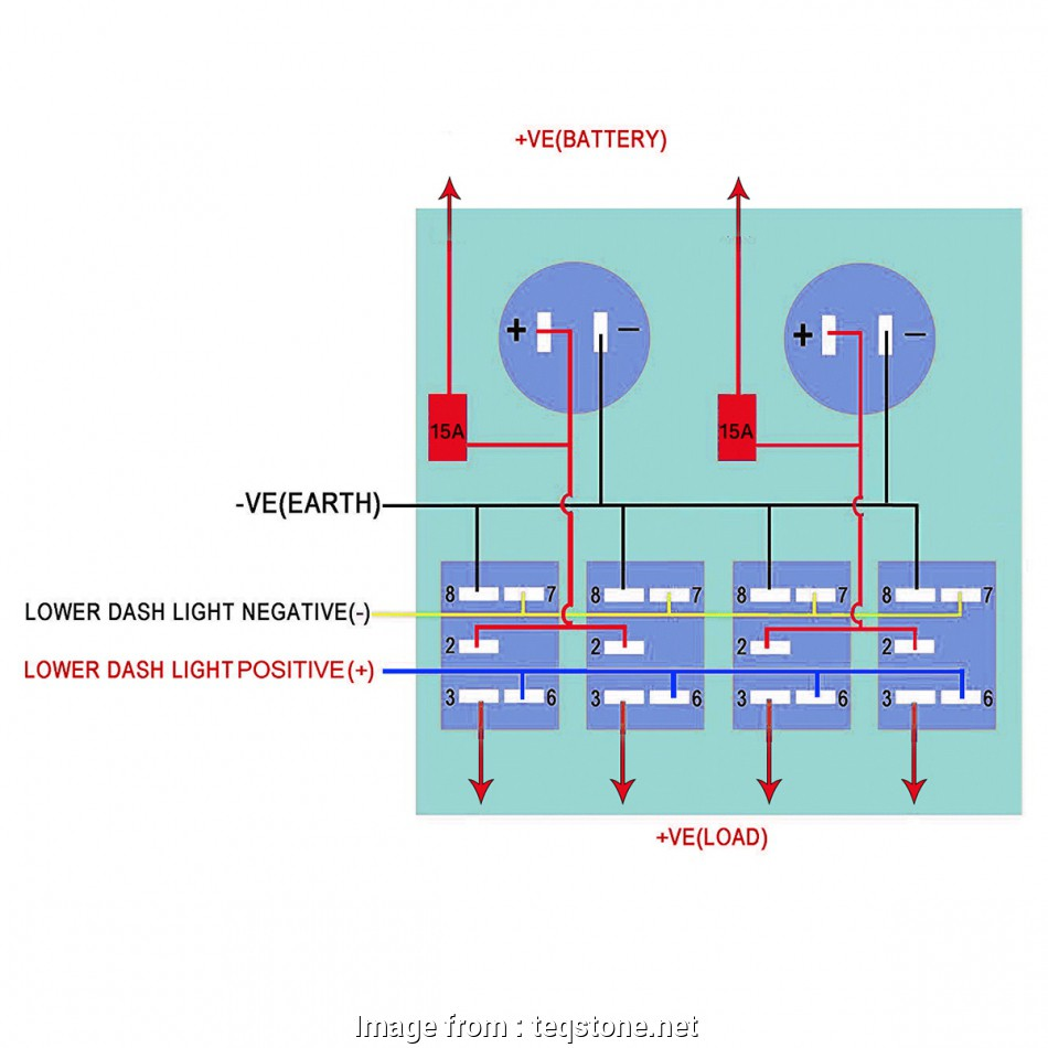 Boat Light Switch Wiring Diagram from tonetastic.info